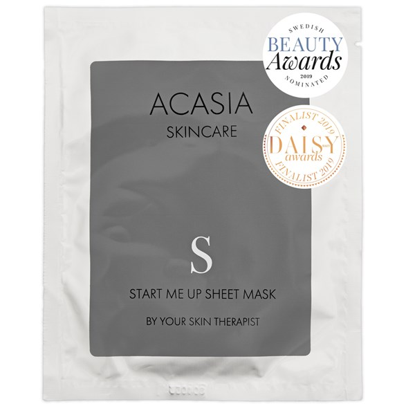 Acasia Skincare Start Me Up Sheet Mask
